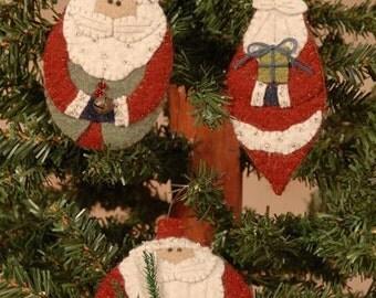 """Primitive PATTERN """"Ho! Ho! Santas!!!"""""""