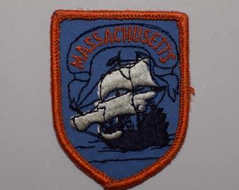 Vintage Massachusetts Patch