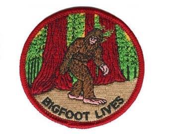 Bigfoot Lives Patch