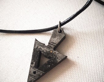 Men pendant necklace Arrow head necklace for him, boyfriend, valentines gift for man