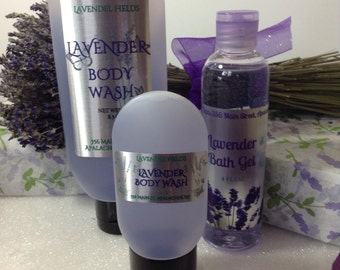 Lavender Body Wash/Bath Gel