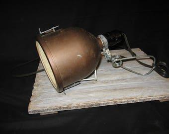 Darkroom Light- Handle & Clamp  Light- Compco Lamp