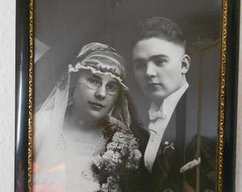 Wedding picture photo frame