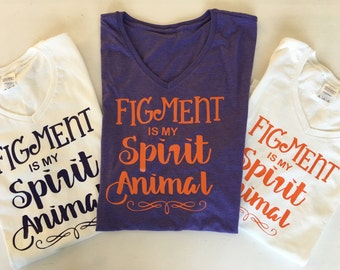 Figment is my Spirit Animal  EPCOT inspired t shirt