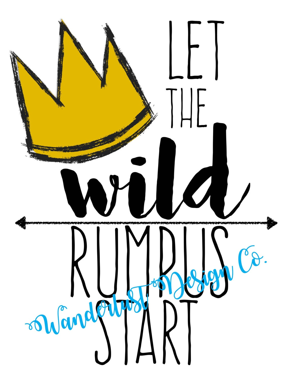 Mesmerizing image in let the wild rumpus start printable