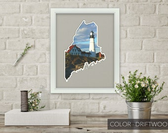 Maine Photo Map