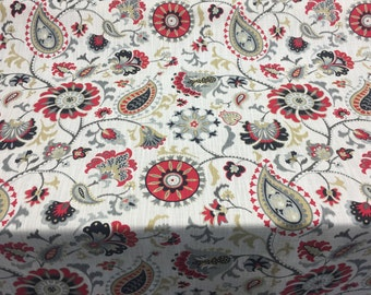 Waverly Siren Song Graphite heavy weight Cotton Fabric By the yard Multipurpose