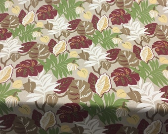 Bryant Everglades Cranberry Floral fabric Indoor Outdoor Fabric by the yard Multipurpose