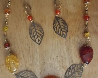Autumn Love Necklace