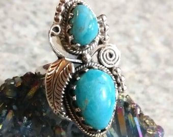 Sleeping Beauty Turquoise Ring Size 7