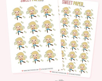 PAYDAY Planner Stickers - Ashley