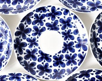 Marianne Westman Mon Amie Tea cup coffee cup Saucer // Rorstrand Rörstrand Sweden Dessert Plate Assiett // Retro Kitchen Swedish vintage