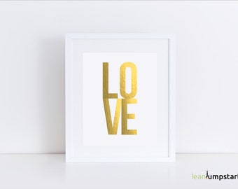 Love Artwork, Love Poster, Love Print, Love Sign, Romantic gifts for her, Love Gifts, Wedding Decor, Engagement Gift Idea, Romantic Wall Art