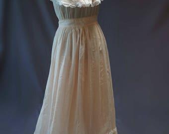 Vintage Peach Sundress Gunne Sax Jessica McClintock VTG Size 11