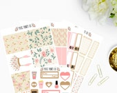 Whimsical Tribe Planner Sticker Kit, Planner Stickers, for use with Erin Condren, Life Planner, Mambi, Happy Planner, Stickers, Planning