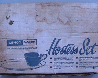 60s LENOX  Hostess Serving Set