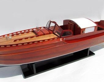 CG Pettersson 1932 Handmade Wooden Model Boat