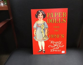 Vintage Paper Dolls from the 1920's