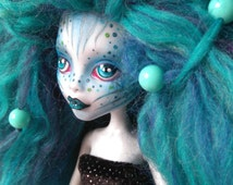 OOAK Monster High Doll- Lagoona Blue