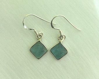 Wonderful, Dangle & Drop, Apatite Gemstone, Sterling Silver Earrings