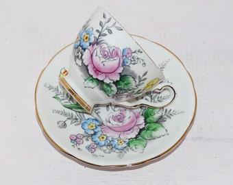 Royal Stafford , Bone China Rosebough England - 1950s - Vintage china - Mid-century china   - 979