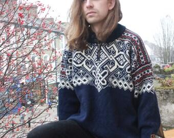 Vintage 80's Norwegian Wool Jumper