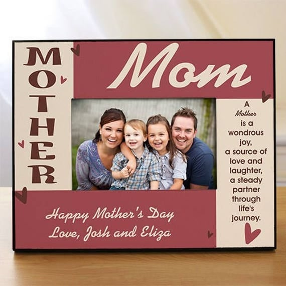 happy mothers day printed photo frame mothers day picture frame mothers day gifts mother picture frames mom frames - Mom Frames