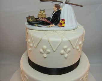 Harry Potter Wedding Cake Topper Etsy