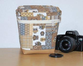 Camera case for SLR camera or bridge camera