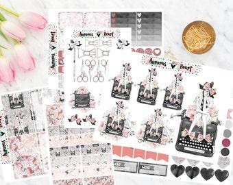 Fashion Girl Full Set boho planner stickers