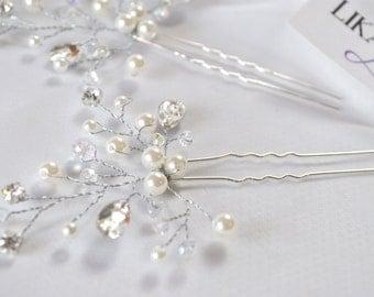 Pins, Bridal Hair Pin, Hair Pin Bride, Bridal Hair Accessories, Bridal Headpiece Hair Pin Headpiece, Bridal Hair Pins, Wedding hairpiece pin