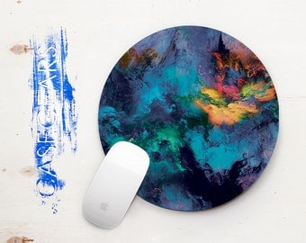 Multicolor Mouse Pad Marble Pad Mouse Color MousePad Round Mouse Pad Office Mouse Pad Office Mousepad Gift Mouse Pad Mouse Accessory CGMP004