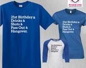 Birthday Shirt 21st Birth...