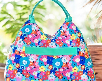 Poppy Beach Bag/Beach Bag/Tote