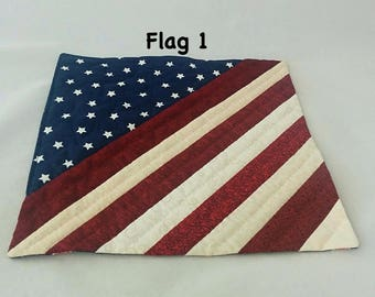 American Flag Placemats or Wall Hanging