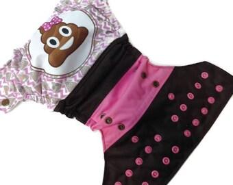 PRE-order - Pocket - one size - POO with loop diaper