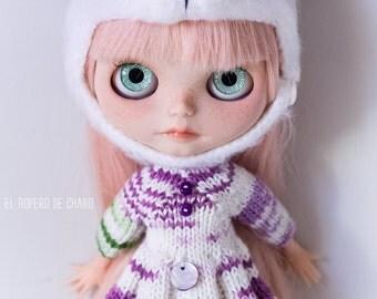 Dress for Blythe doll - dress for Blythe doll