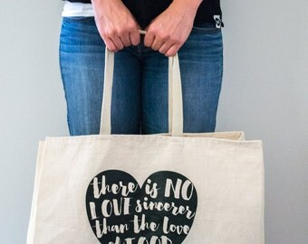 Food Love Tote Bag