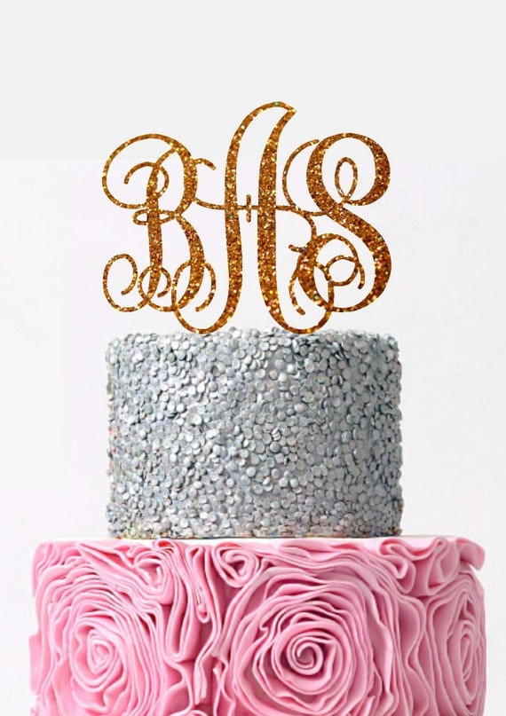 wedding cake toppers initials initial wedding cake topper monogram cake topper custom 26509