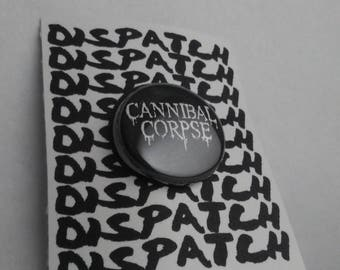 Cannibal Corpse Band Button