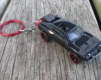 Dodge Charger keychain, Van Diesel Fate and Furious, Mens or Womens keychain, Die cast cars, Mens or Womens gift