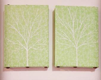 Serene green mini trees *Sold Individually*