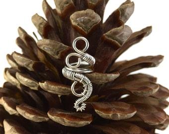 Enchanted dreadlock bead, elvish hair jewellery, Dread beads, Dreadlock accessories