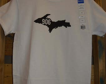 Tshirt Upper Peninsula of Michigan - 906 T