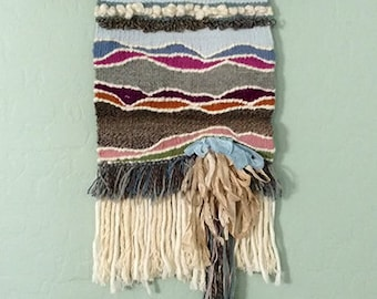 Woven wall hanging - Ready to ship - Boho Decor - Woven Tapestry - Gift for you
