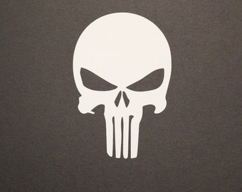 Punisher decal, Skull Decal