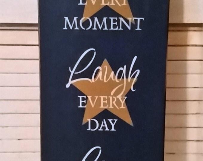 Primitive Live, Laugh, Love Sign