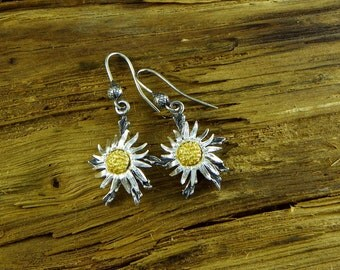 Wild thistle Alpine - Earrings Silver