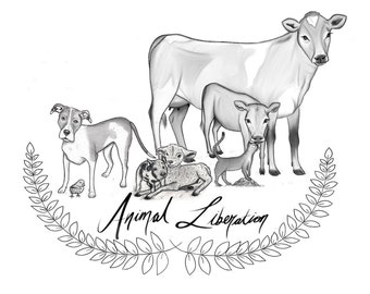 Animal Liberation Vegan Print