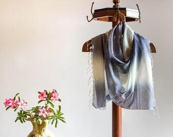 Scarf | Handloom Cotton | Ikkat Weave